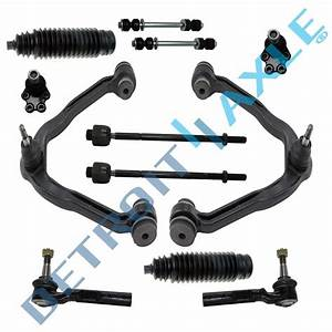 New 12pc Complete Front Suspension Kit For Chevy Silverado