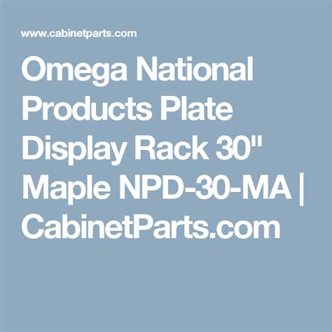 omega national products plate display rack   maple npd  ma plate display npd kitchen