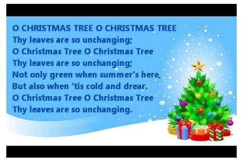 O Tannenbaum Karaoke.Oh Christmas Tree Instrumental Download Exraldiro