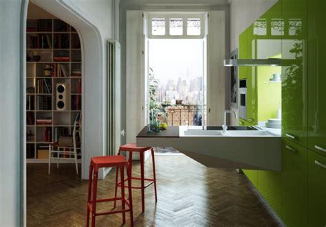 cuisine gris et vert cuisine gris et vert anis photos de conception de maison