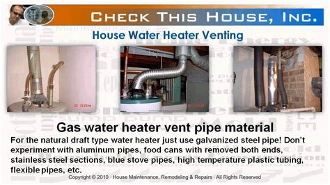 water heater in garage code water heater venting how to vent a gas water heater