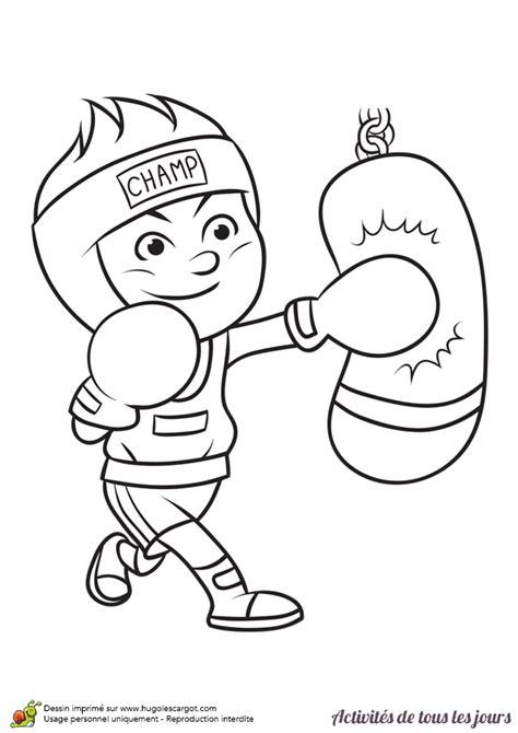 jeu de cuisine facile coloriage activités de tous les jours faire de la boxe