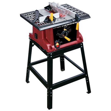 harbor freight table saw stand 10 in 15 amp benchtop table saw