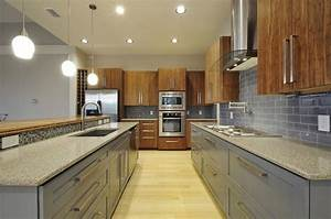Bamboo/Paint Mix - Contemporary - Kitchen - Austin - by