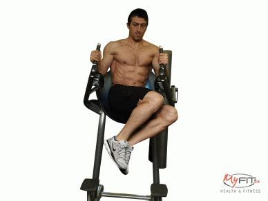 Chair Leg Raise Oblique by Side Leg Raise