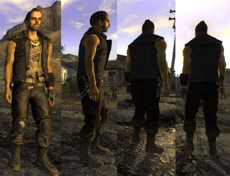 Courier Six Clothes At Fallout New Vegas