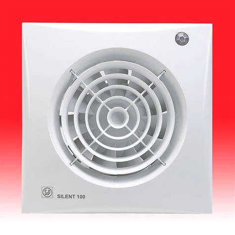 bathroom extractor fans silent 100 cdz extractor fan with shutter pir