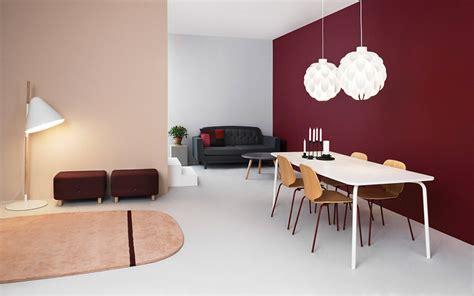 colori da parete per soggiorno usare il viola e il rosso per le pareti soggiorno