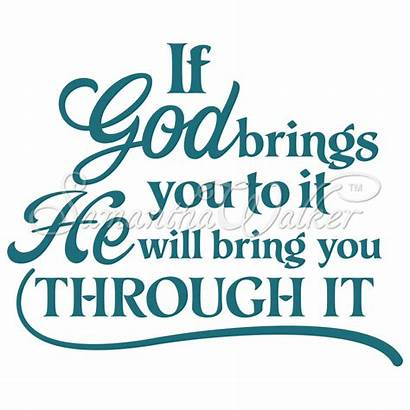 Silhouette Vinyl Quotes God Designs Cameo Sayings