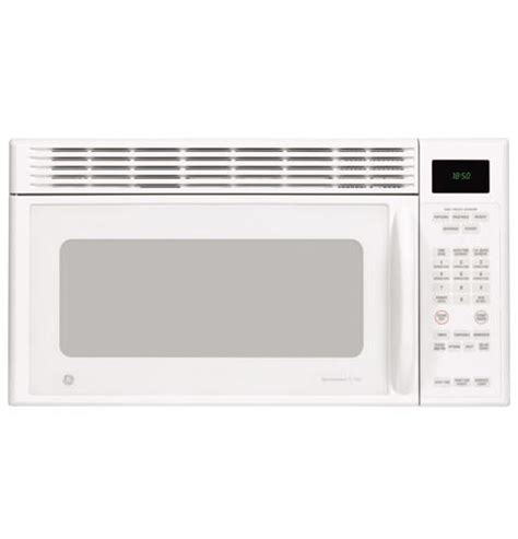 ge microwave with vent fan jvm1851wh ge spacemaker xl1800 microwave oven with