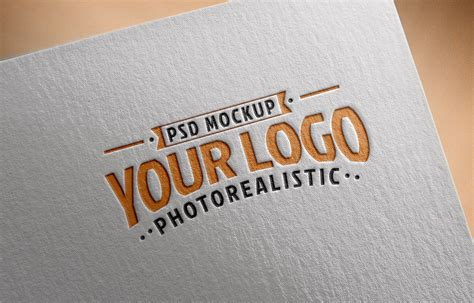 We are a team of designers based in the us that provide the latest psd graphic resources and downloads. Free Logo Mockup PSD on Textured Paper - Good Mockups