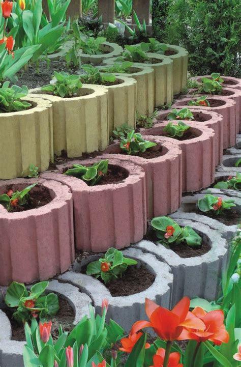 Garten Ideen Pflanzsteine by Pflanzsteine Setzen Und Bepflanzen Gartengestaltung