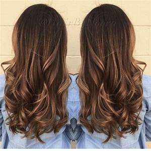 Wavy layers, Layer hair and Balayage on Pinterest