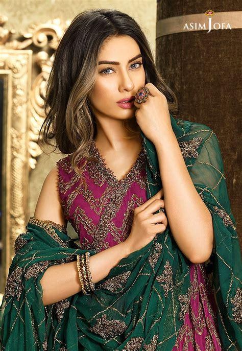 pakistani fancy dresses asim jofa mysorie chiffon
