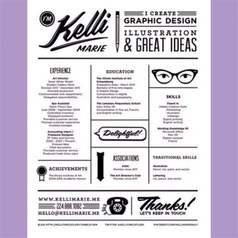 Graphic Design Resume Sles 2016 by Graphic Design Resume 2016 Graphic Design Resume Kelli