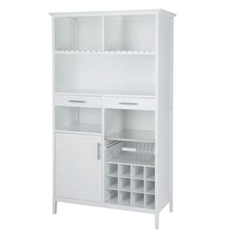 alinéa bloom meuble blanc de rangement pour cuisine h180cm pas cher achat vente etagères