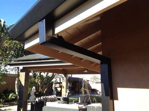 custom cut downspouts  contemporary rain gutters