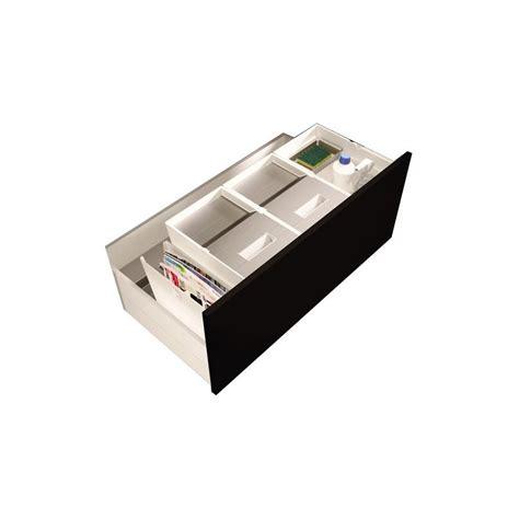 poubelle tiroir cuisine poubelle pour tiroir 2 bacs 32 litres