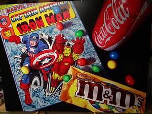 Doug Bloodworth - Captain America and Iron Man Original