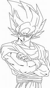 Dragon Ball Z Super Saiyan 4 Coloring Pages Az Coloring
