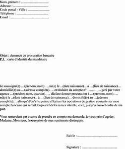 Cepourtous Mon Compte : exemple de lettre procuration bancaire pour gestion courante d 39 un compte en banque ~ Medecine-chirurgie-esthetiques.com Avis de Voitures