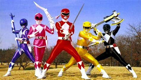 rangers colors color coded power rangers and friends