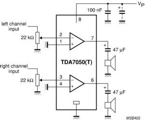 Tdat Low Voltage Audio Amplifier Buy