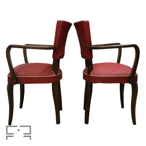 Made Armchairs by Two Beautiful Deco Armchairs Made In The 1930s Mid