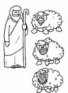 Jesus is the Good Shepherd (mobile cutouts) | Arts and Crafts