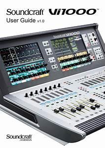 Soundcraft Vi1000 96
