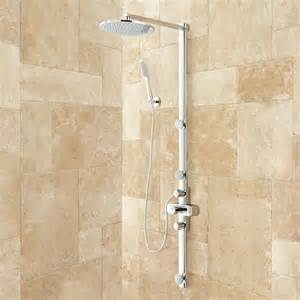 Perrin And Rowe Bathroom Faucets by Tosca Thermostatic Shower System With Rainfall Shower And