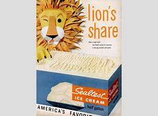 Cake & Ice Cream Weekend Event Sealtest Ice Cream, 1950s