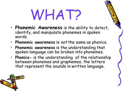 Phonemic Awareness By Miranda Bird  Ppt Video Online Download