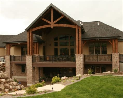 Awesome Ranch Floor Plans With Walkout Basement AWESOME