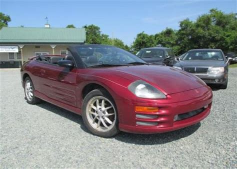 2001 Mitsubishi Eclipse Spyder Gt Convertible by Buy Used 2001 Mitsubishi Eclipse Spyder Gt Convertible 2