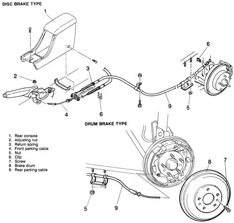 repair guides parking brake cables autozonecom