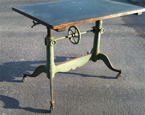 antique drafting table for sale 19th century french drafting table with original paint