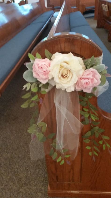 Hope And Joy Home Diy Wedding Pew Bows Pew Bows In 2019