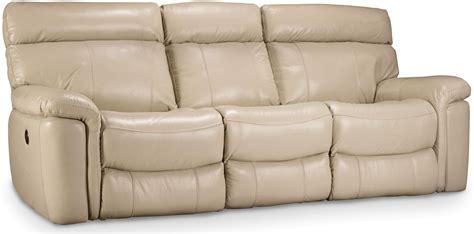 beige leather reclining sofa melanie beige leather reclining sofa ss620 03 082 hooker