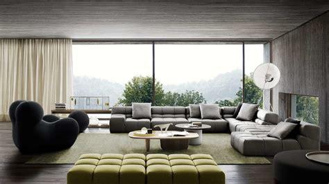 modern corner sofas  bb italia home