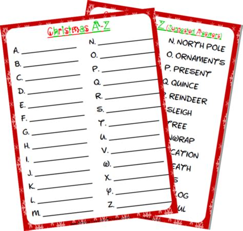 christmas   worksheet   images worksheets