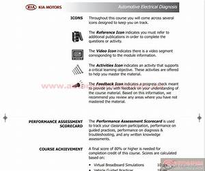 Kia Course Guide Automotive Electrical Diagnosis