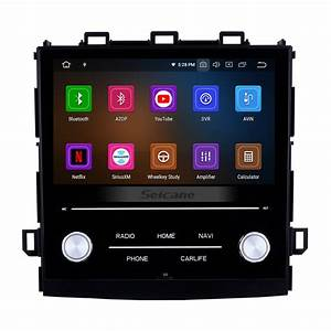 8 Inch Android 10 0 Hd Touch Screen Car Stereo Radio Head