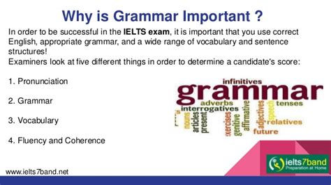 Is Grammar Important by Grammar Vocabulary For Ielts
