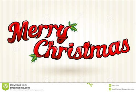 merry christmas text worked out to details vector art stock vector illustration of drawing