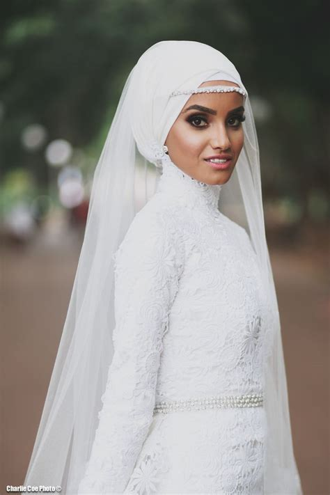 wedding hijab ideas  pinterest bridal hijab