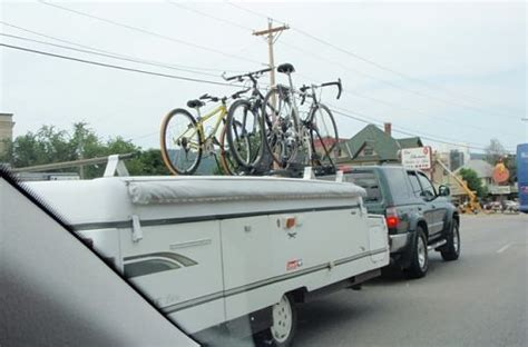 tent trailer bike rack rack solution for and tent cer mtbr