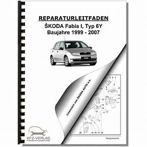 Skoda Fabia Type 6y  99-02  Schematics  Wiring Diagrams  Electrical