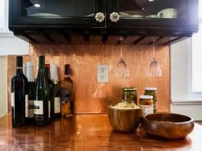 kitchen copper backsplash backsplash ideas for granite countertops hgtv pictures kitchen ideas design with cabinets
