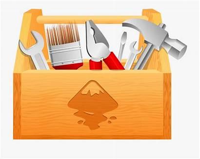 Tool Clip Clipart Toolbox Wood Cliparts Boxes